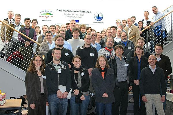 Data Management Workshop - group picture