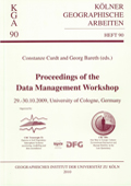 Data Management Workshop - proceedings