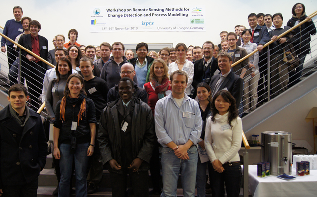Remote Sensing Methods for Change Detection and Process Modelling - group picture