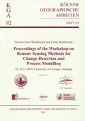 Remote Sensing Methods for Change Detection and Process Modelling - proceedings