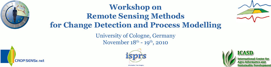 Remote Sensing Methods for Change Detection and Process Modelling