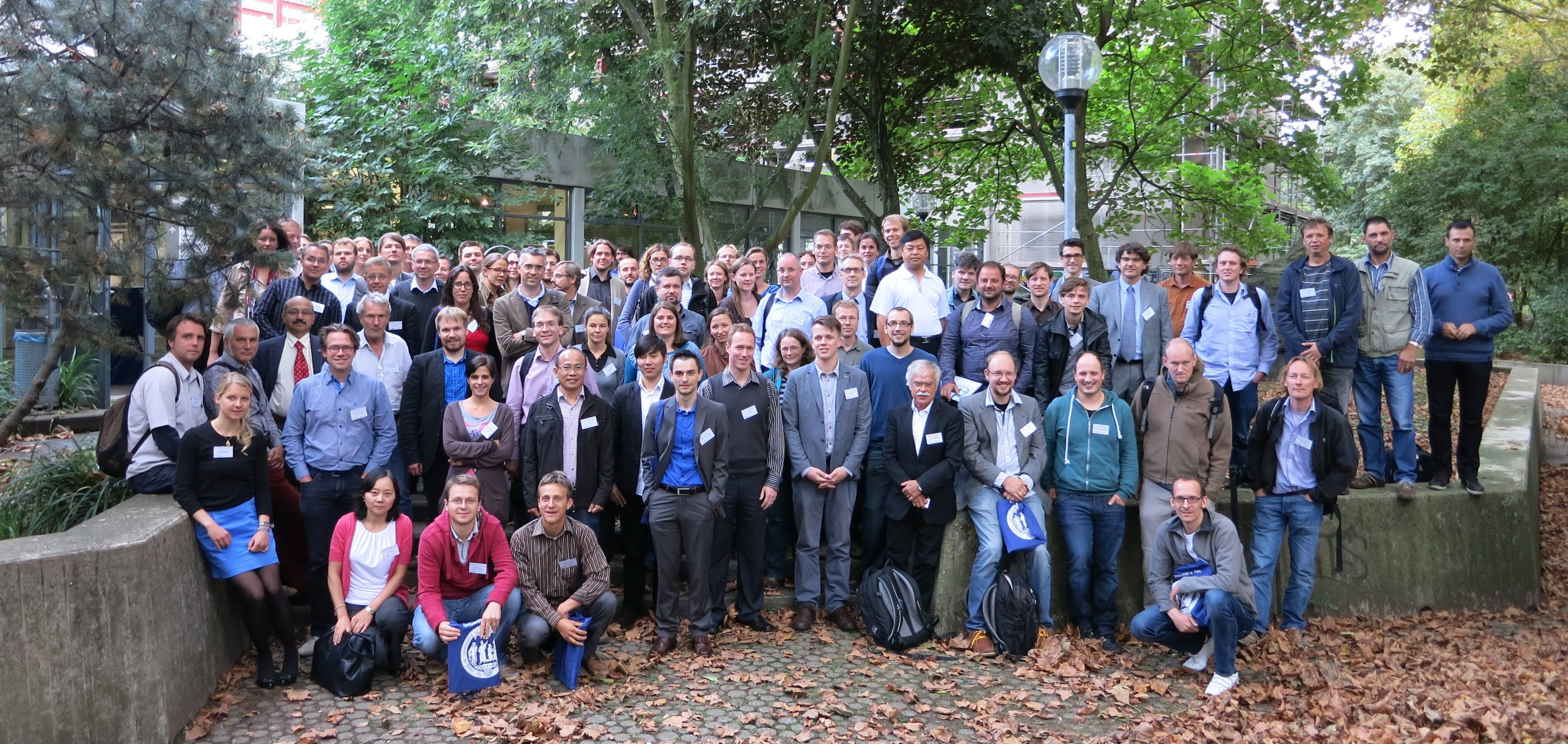 UAV-based Remote Sensing Methods for Monitoring Vegetation - group picture