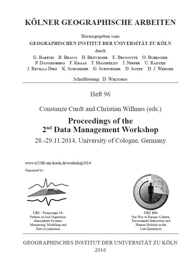 2nd Data Management Workshop 2014 - proceedings