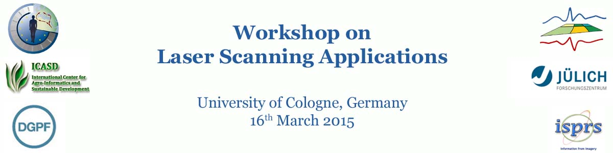 Workshop on Laser Scanning Applications 2015