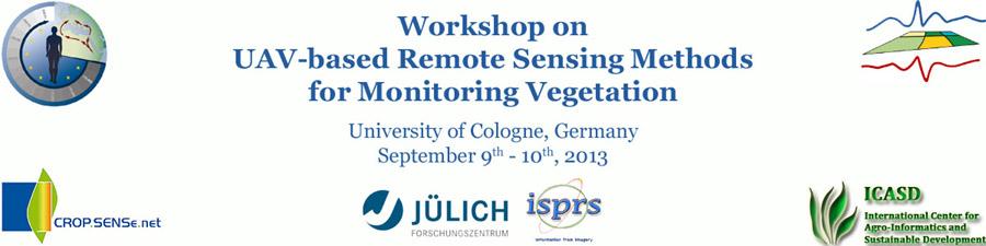 UAV-based Remote Sensing Methods for Monitoring Vegetation