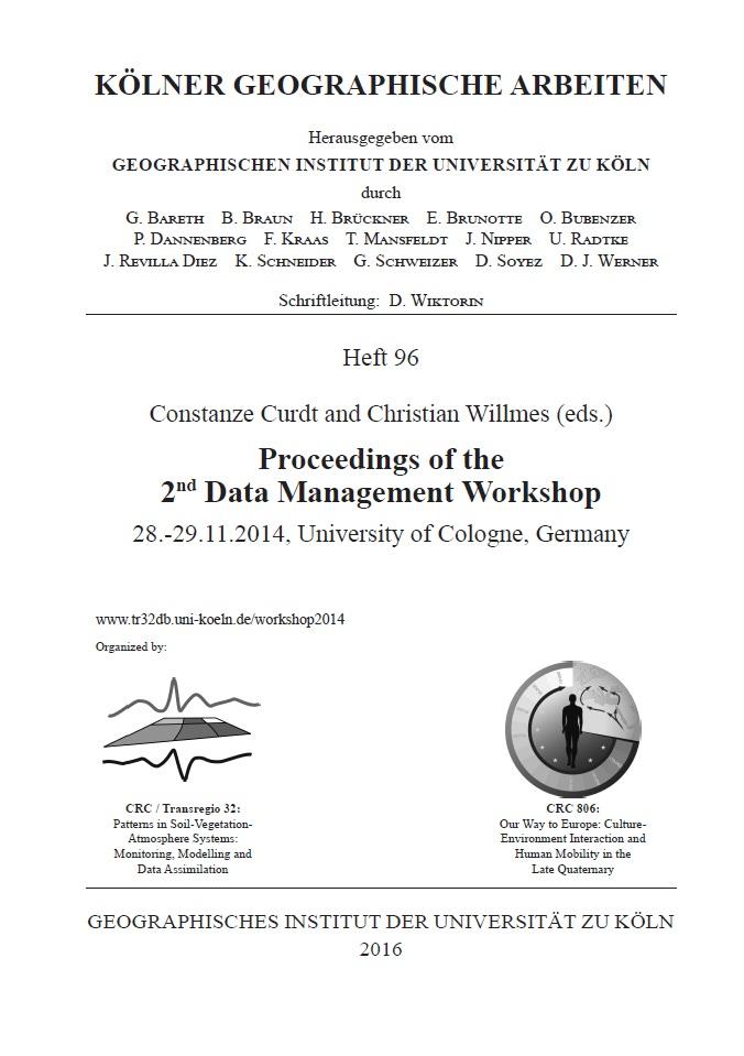2nd Data Management Workshop 2014 - proceedings