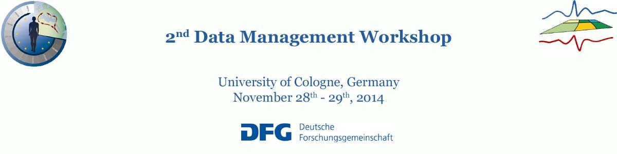 2nd Data Management Workshop 2014